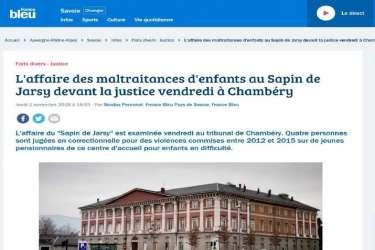 Articles de journaux Sapin de Jarsy